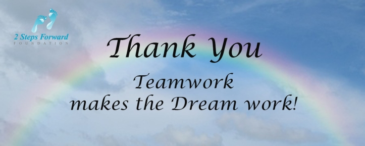 Thank You Sentinels Of Hope Volunteers 2 Steps Forward Foundation